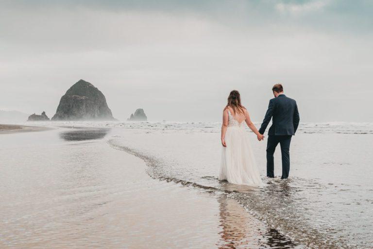Cannon Beach Oregon Wedding Photos