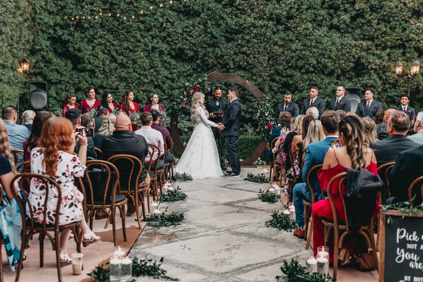 Franciscan Gardens Wedding Photos by Atlas and Rose Studios