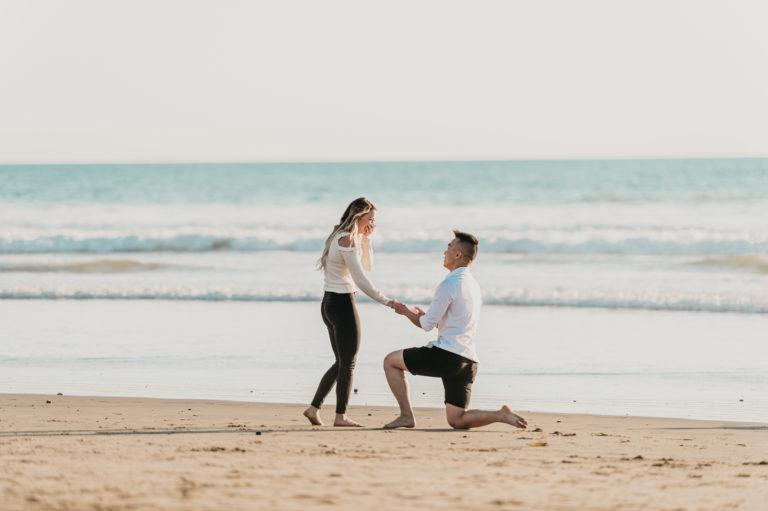 Huntington Beach Marriage Proposal