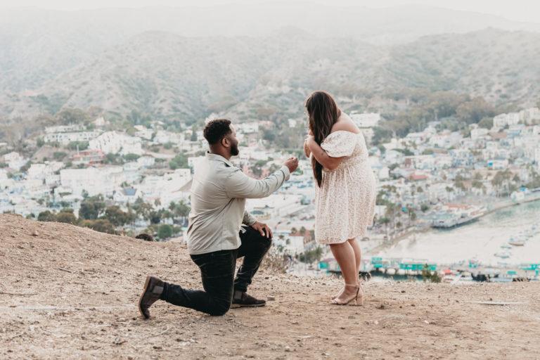 Catalina Island Marriage Proposal – 2021